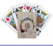 Martial Arts Playing Cards