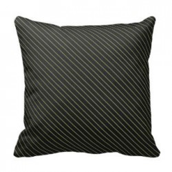 elegant_gold_stripes_pillow